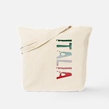 Italia Stamp Tote Bag