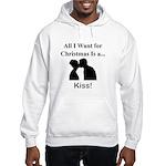 Christmas Kiss Hooded Sweatshirt