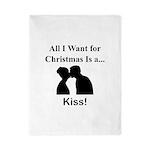 Christmas Kiss Twin Duvet