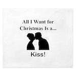 Christmas Kiss King Duvet
