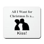 Christmas Kiss Mousepad