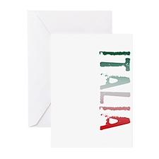 Italia Stamp Greeting Cards