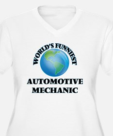 World's Funniest Automotive Mech Plus Size T-Shirt