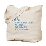 All maths Canvas Totes