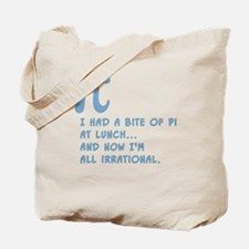 Pi for Lunch Tote Bag