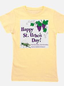 Happy St. Urho's Day Girl's Tee