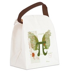 Pi Art Canvas Lunch Bag