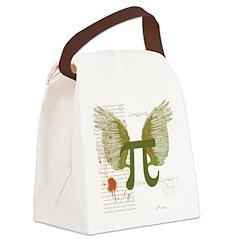 Pi Art Canvas Lunch Bag