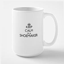 Keep calm I'm a Shoemaker Mugs