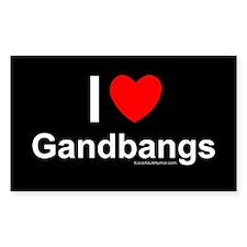 Gangbangs Decal