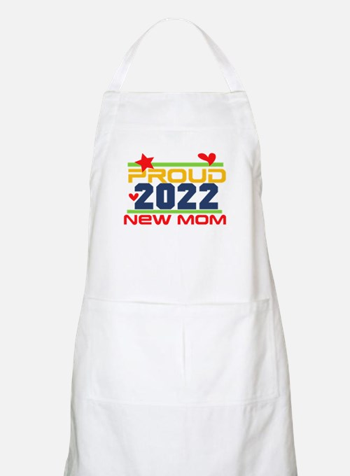2017 Proud New Mom Light Apron