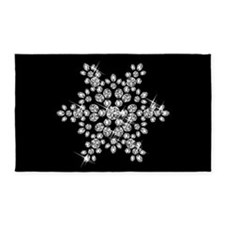 DIAMOND SNOWFLAKE Area Rug