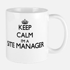 Keep calm I'm a Site Manager Mugs