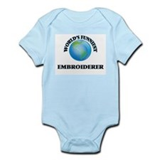 World's Funniest Embroiderer Body Suit