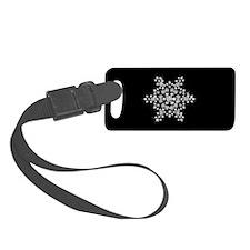 DIAMOND SNOWFLAKE Luggage Tag