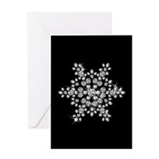 DIAMOND SNOWFLAKE Greeting Card