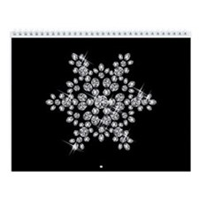 DIAMOND SNOWFLAKE Wall Calendar