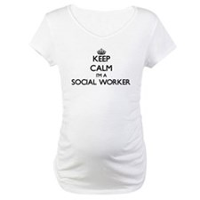 Keep calm I'm a Social Worker Shirt