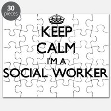 Keep calm I'm a Social Worker Puzzle