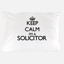 Keep calm I'm a Solicitor Pillow Case