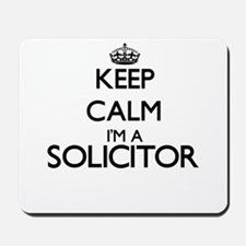 Keep calm I'm a Solicitor Mousepad