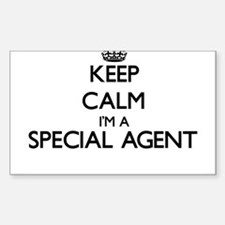 Keep calm I'm a Special Agent Decal