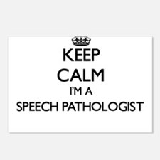 Keep calm I'm a Speech Pa Postcards (Package of 8)