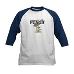 Party with Fungi Kids Baseball Jersey