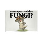Party with Fungi Rectangle Magnet (10 pack)