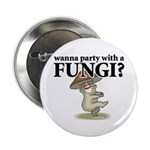 "Party with Fungi 2.25"" Button (10 pack)"
