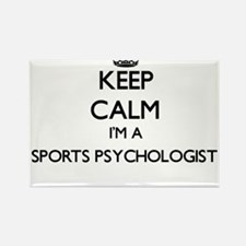 Keep calm I'm a Sports Psychologist Magnets