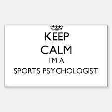 Keep calm I'm a Sports Psychologist Decal