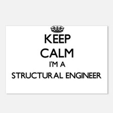 Keep calm I'm a Structura Postcards (Package of 8)