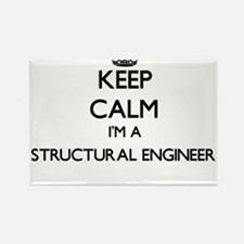 Keep calm I'm a Structural Engineer Magnets