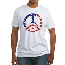 Patriotic Peace Sign T-Shirt