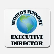 World's Funniest Executive Director Mousepad