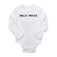 Cute Programmer Long Sleeve Infant Bodysuit