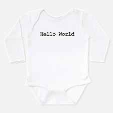 Hacker Long Sleeve Infant Bodysuit