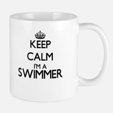 Keep calm I'm a Swimmer Mugs