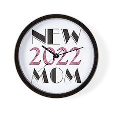 2015 New Mom Wall Clock
