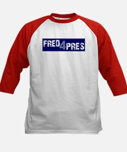 Fred for Pres Blue Tee