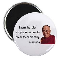 """Dalai Lama 11 2.25"""" Magnet (100 pack)"""