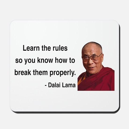 Dalai Lama 11 Mousepad