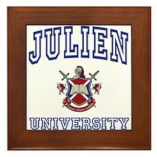 JULIEN University Framed Tile