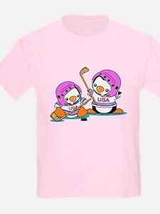 Ice Hockey Penguins T-Shirt