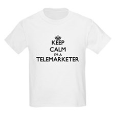 Keep calm I'm a Telemarketer T-Shirt