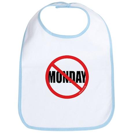 No Mondays Bib