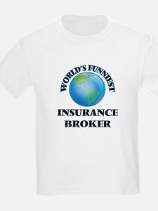 World's Funniest Insurance Broker T-Shirt