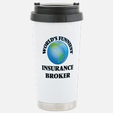 World's Funniest Insura Travel Mug