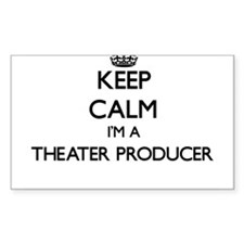 Keep calm I'm a Theater Producer Decal